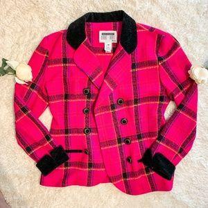 90's Vintage | Clueless Style Pink Blazer
